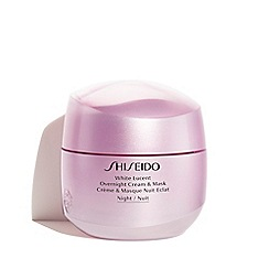 Shiseido - 'White Lucent' Overnight Cream and Mask 75ml