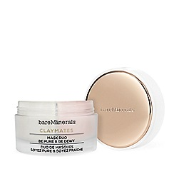 bareMinerals - 'Be Pure and Be Dewy' face mask duo 58g