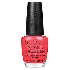 OPI - I eat mainely lobster nail polish 15ml