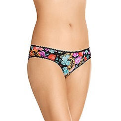 Bonds - Black cotton rich bikini knickers