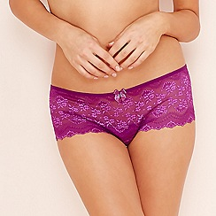 The Collection - Purple lace shorts