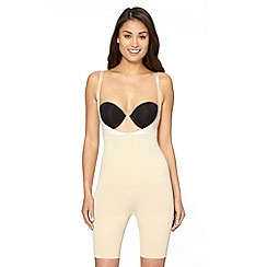 Maidenform - Beige 'Wear Your Own Bra' firm control shapewear all-in-one