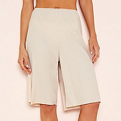 The Collection - Natural light control culotte style slip