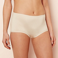 The Collection - Natural microfibre full brief knickers
