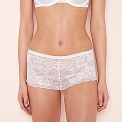 attractive price clients first where to buy Lace - white - Shorts - Knickers - Lingerie | Debenhams
