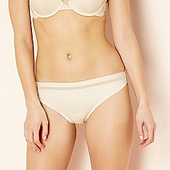 The Collection - Beige seamless thong