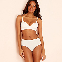 Sloggi - S by Sloggi ivory non-wired padded t-shirt bra