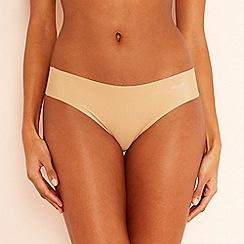 Sloggi - Beige 'Zero Feel' seamless bikini knickers