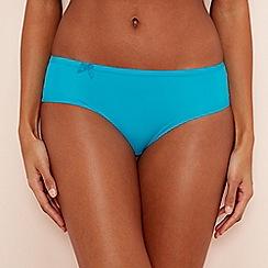 Sloggi - Blue 'Wow Comfort' bikini knickers