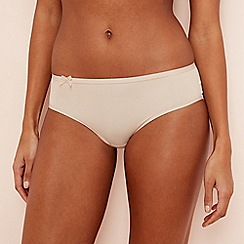 Sloggi - Nude 'Wow Comfort' bikini knickers