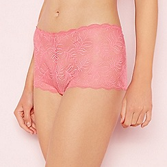 The Collection - Bright pink lace shorts