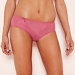 Sloggi - Dark pink 'Wow Comfort' high leg knickers