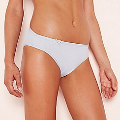 Sloggi - Light grey 'Wow Comfort' high leg knickers