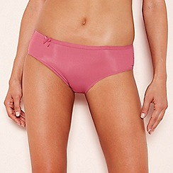 Sloggi - Pink 'Wow Comfort' bikini knickers