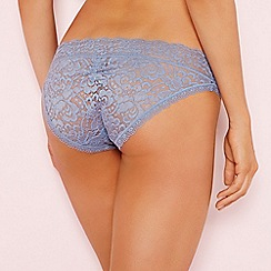 The Collection - Light blue lace bikini knickers