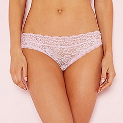 The Collection - Lilac lace bikini knickers