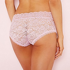 The Collection - Lilac lace shorts