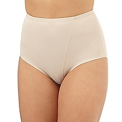 Debenhams - Nude firm control low leg shaping briefs