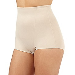 The Collection - Nude firm control high waisted shaping briefs