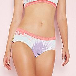 Bonds - Pink floral print cotton boy shorts