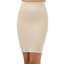 Debenhams - Nude firm control shaping half slip