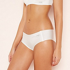 Sloggi - Cream 'Zero Feel' Bikini Knickers