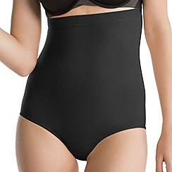 Spanx - Black 'Power Series' high-waisted briefs