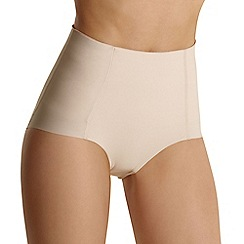Debenhams - Natural 'Invisible' low leg shapewear pants