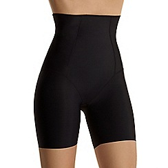 Debenhams - Black high waist thigh slimmer