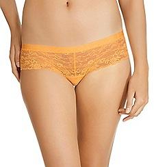Bonds - Yellow lace shorts