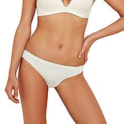 Sloggi - Ivory 'Wow Comfort' mini bikini briefs