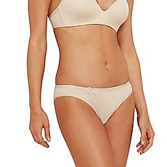 Sloggi - Natural 'Wow Comfort' mini bikini briefs