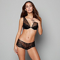 B by Ted Baker - Black lace underwired non-padded full cup bra