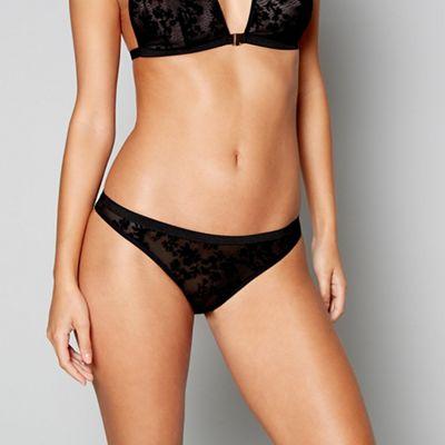 898e8ac04227e Lipsy Black kerrie Brazilian knickers