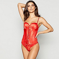 Ann Summers - Red Audrina basque