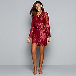 Ann Summers - Red lace 'Sascha' dressing gown