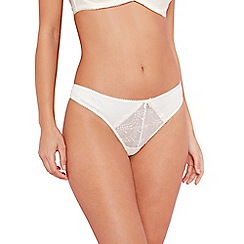B by Ted Baker - Ivory bridal lace thong
