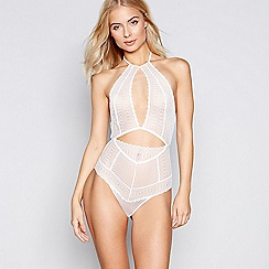 Nine by Savannah Miller - Ivory graphic lace body