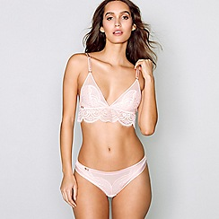 9c135cd09c8793 B by Ted Baker - Pink lace non-wired non-padded bralette