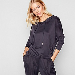Nine by Savannah Miller - Black loungewear hoody