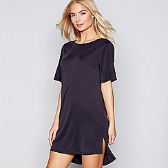 Nine by Savannah Miller - Black cupro short sleeve pyjama top