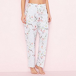 B by Ted Baker - Blue 'Blossom' print pyjama bottoms