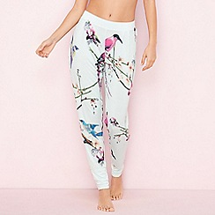 B by Ted Baker - Green 'Flight of the Orient' print pyjama bottoms