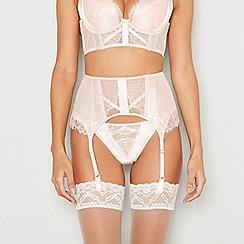 Ann Summers - Pale pink lace 'Nala' waspie