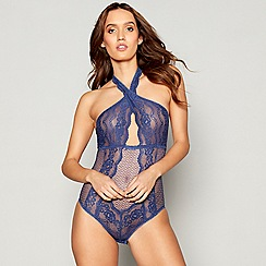 Lipsy - Blue lace 'Katy' body