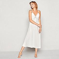 No. 1 Jenny Packham - Ivory bridal diamante chiffon chemise