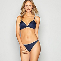 Calvin Klein - Navy non-wired padded triangle bra