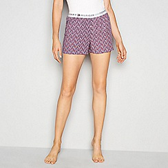 Tommy Hilfiger - Multi chevron print 'Iconic' pyjama bottoms