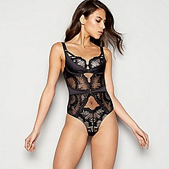 Ann Summers - Black lace 'Evangelique' body