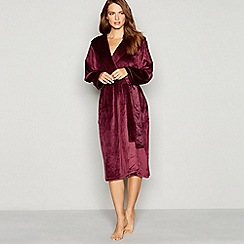 B by Ted Baker - Purple hooded dressing gown